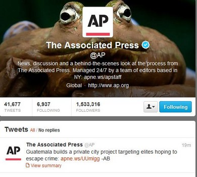 associated press twitter feed to display sponsored tweets - toronto headlines
